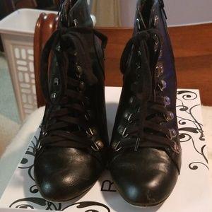 Madden girl women's ankle chunky boot